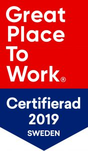 Great Place to Work certifierade