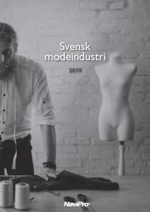 svensk modeindustri 2019