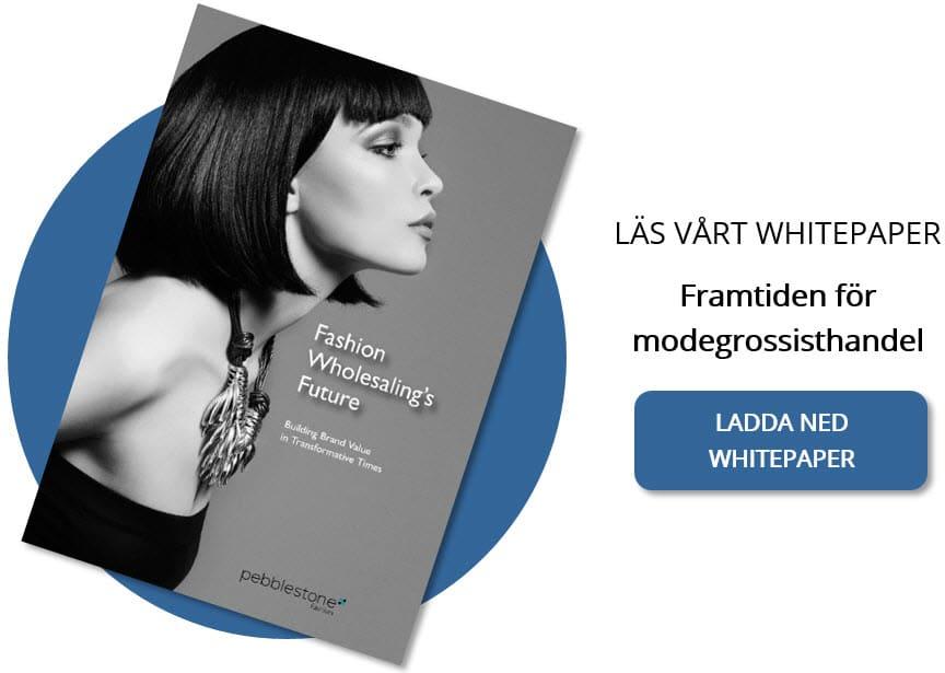 Whitepaper, Framtiden för modegrossisthandel