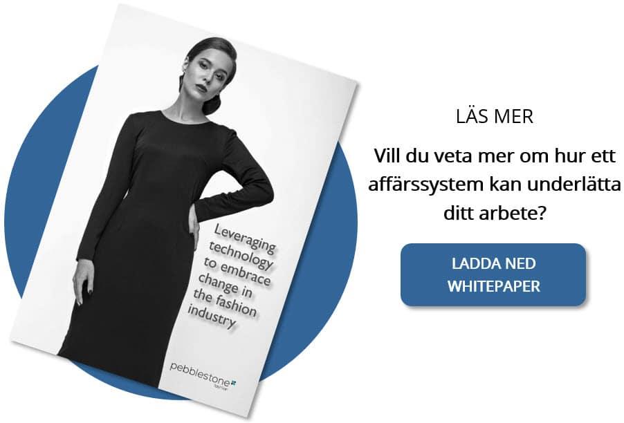 Whitepaper, så utnyttjar du tekniken för att omfamna förändring i modebranschen