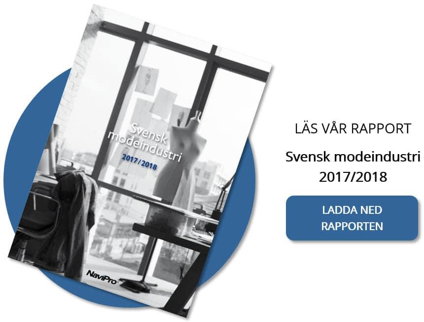 Branschrapport Svensk modeindustri
