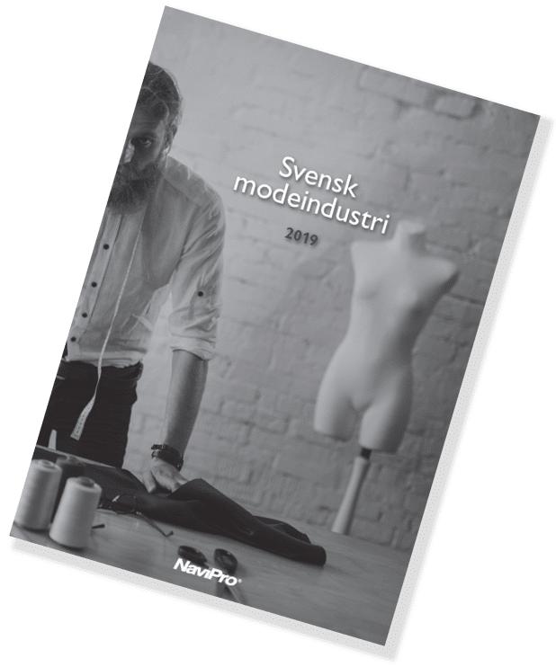 Omslag Svensk modeindustri rapport