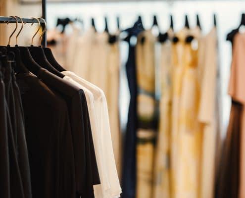Clothes retail